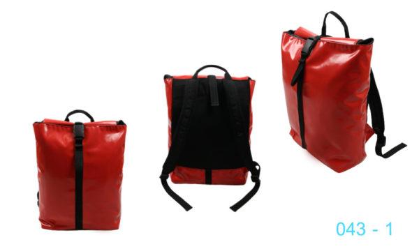 043 - 1 กระเป๋าเป๋สะพายผ้าใบ
