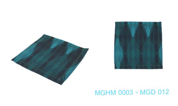 MGHM 0003 - MGD 012 - 61  ที่รองแก้ว  Storia & Co