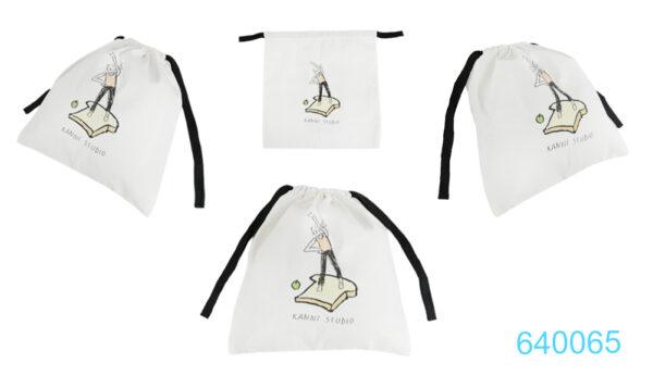 640065  ถุงผ้าหูรูด  บริษัท เคเจ สตูดิโอ  จำกัด (สำนักงานใหญ่)